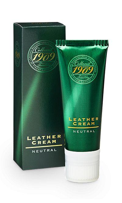 Bezbarwny krem do skóry licowej, Leather Cream 1909 Collonil