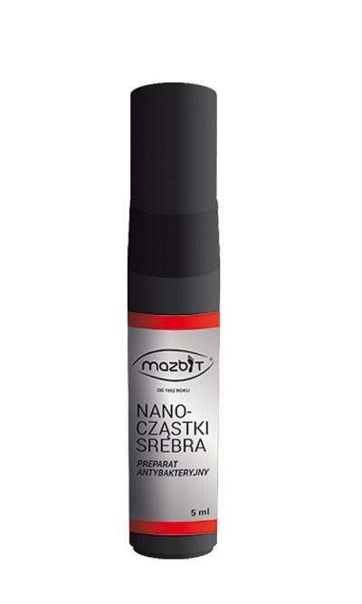 Antygrzybiczy preparat do dezynfekcji nanocząsteczki srebra