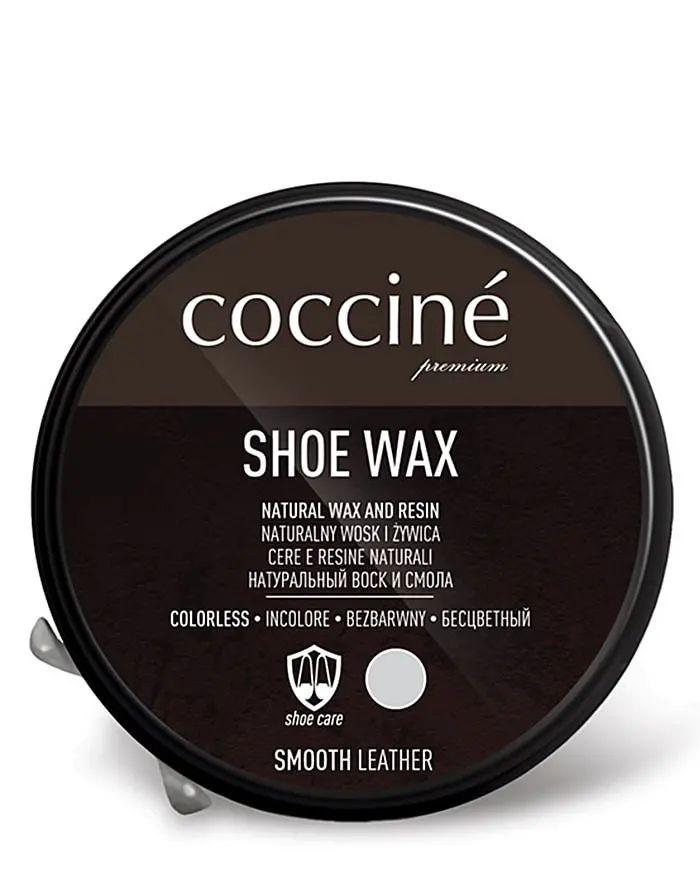 Bezbarwna, klasyczna pasta do butów z woskiem, Shoe Wax, Coccione