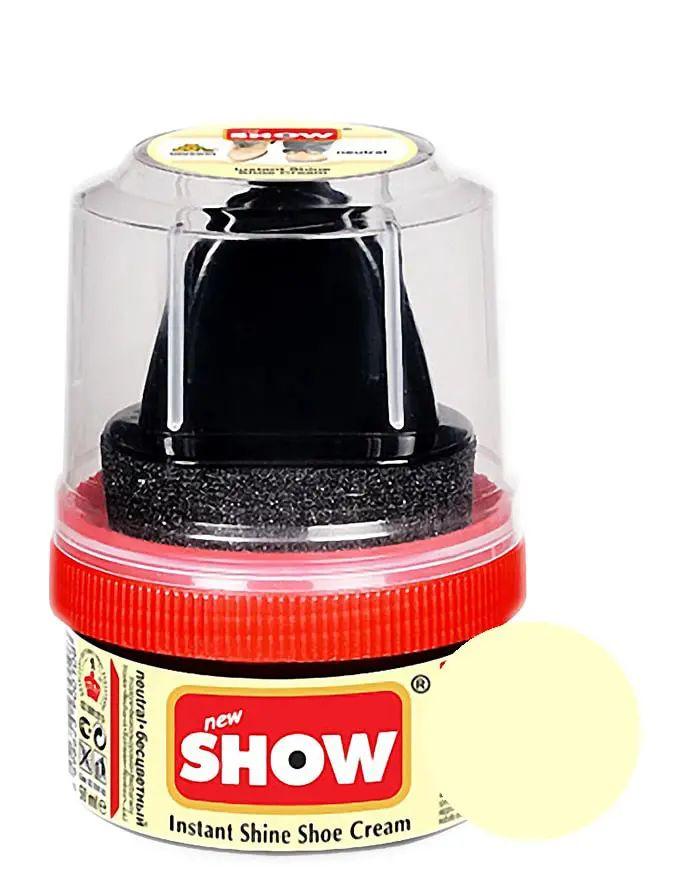 Bezbarwna pasta woskowa, nabłyszczająca, Shoe Cream Show