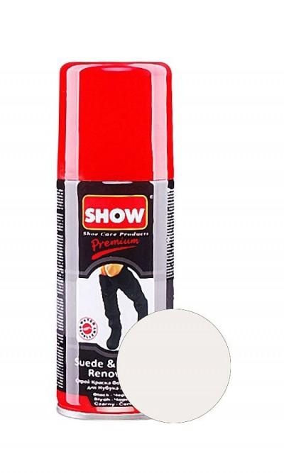 Bezbarwny renowator do butów zamszowych, nubuku Show 100 ml
