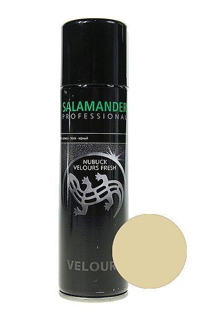 Beżowa pasta do zamszu nubuku Salamander, Velours Nubuk Fresh