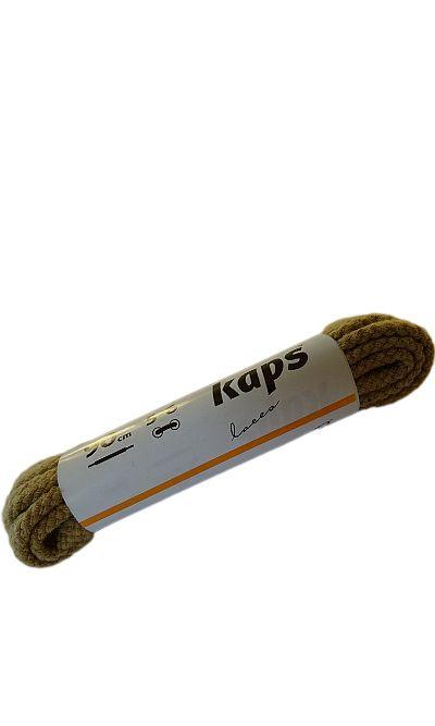 Beżowe sznurówki do butów, okrągłe grube 90 cm Kaps