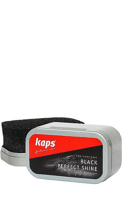 Czarna gąbka do czyszczenia, nabłyszczania obuwia Kaps