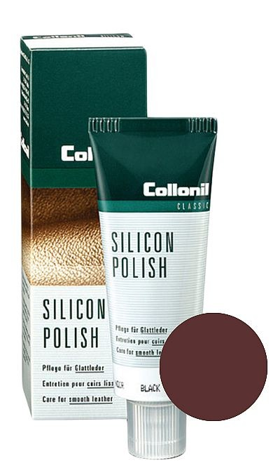 Bordowa pasta do butów, Silicon Polish Collonil 75 ml