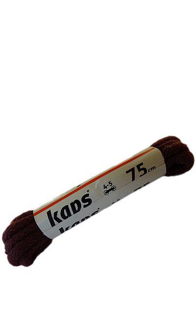 Bordowe sznurówki do butów, okrągłe grube 75 cm Kaps