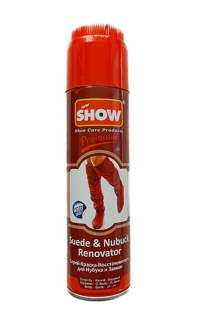 BORDOWY RENOWATOR DO ZAMSZU NUBUKU SHOW 220 ML