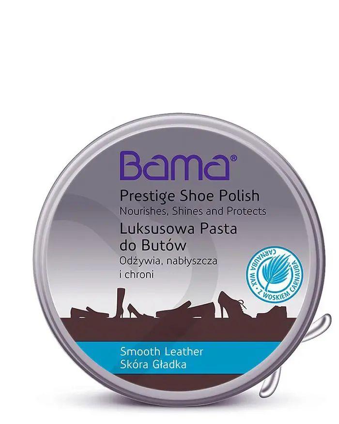 Bezbarwna, klasyczna pasta do butów, luksusowa, 50 ml, Bama