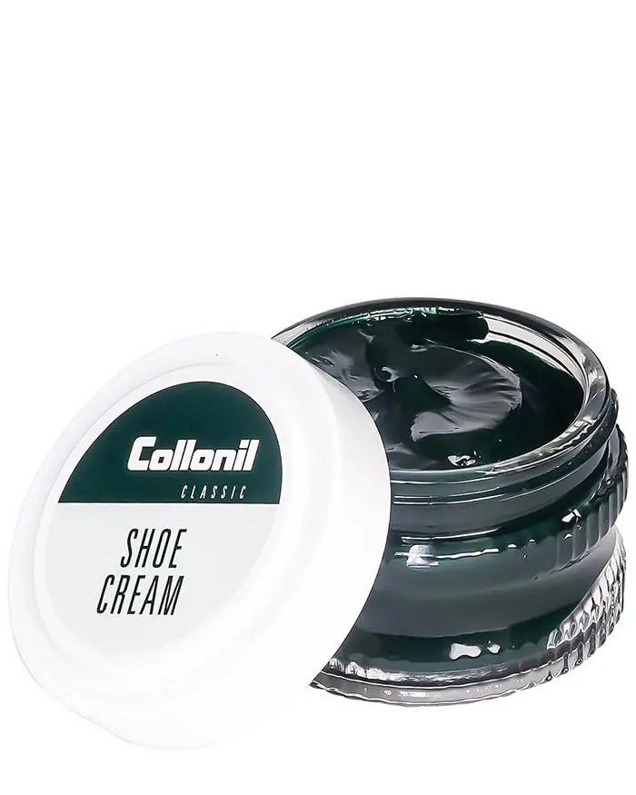 Ciemnozielony krem do skóry licowej, Shoe Cream 614 Collonil