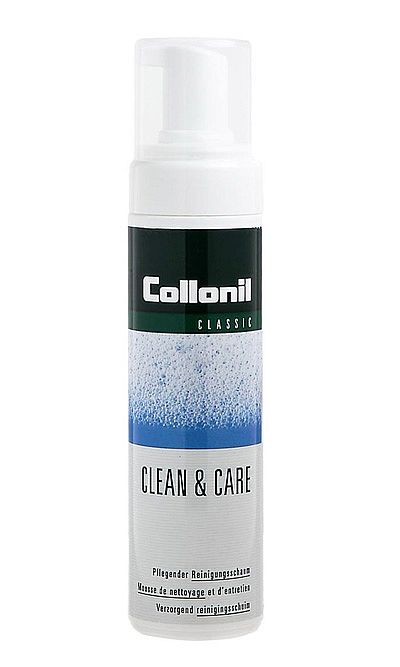 Pianka do czyszczenia obuwia, uniwersalna, Clean & Care Collonil
