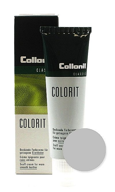 Srebrna pasta, renowator do skóry licowej, Colorit Collonil