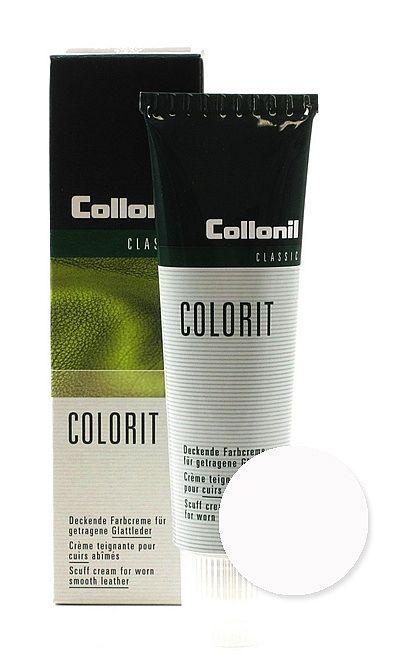 Biała pasta, renowator do skóry licowej, Colorit Collonil