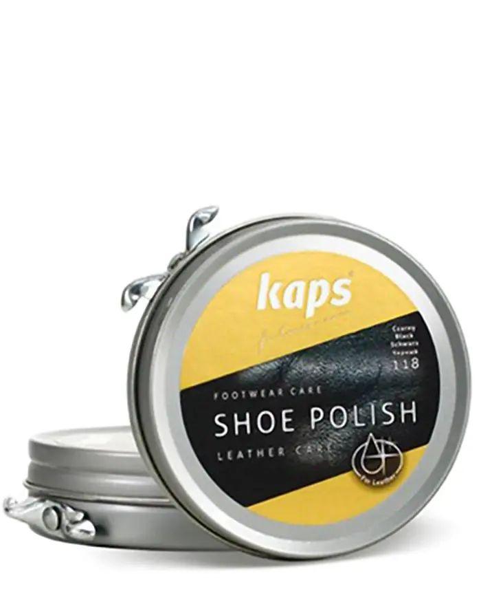 Brązowa, klasyczna pasta do butów, 50 ml, Shoe Polish Kaps