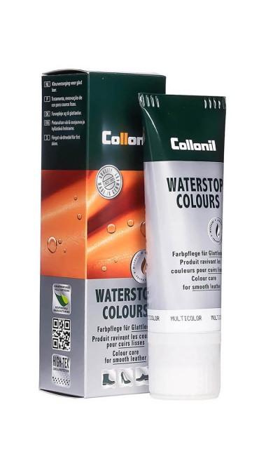 Czarna pasta do skóry gładkiej Waterstop Colours Lack Collonil 75 ml
