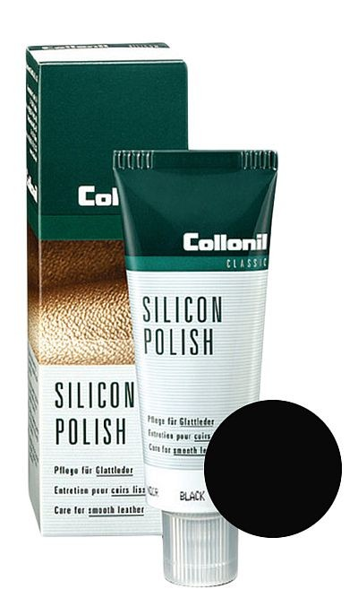 Czarna pasta do butów, Silicon Polish Collonil 75 ml