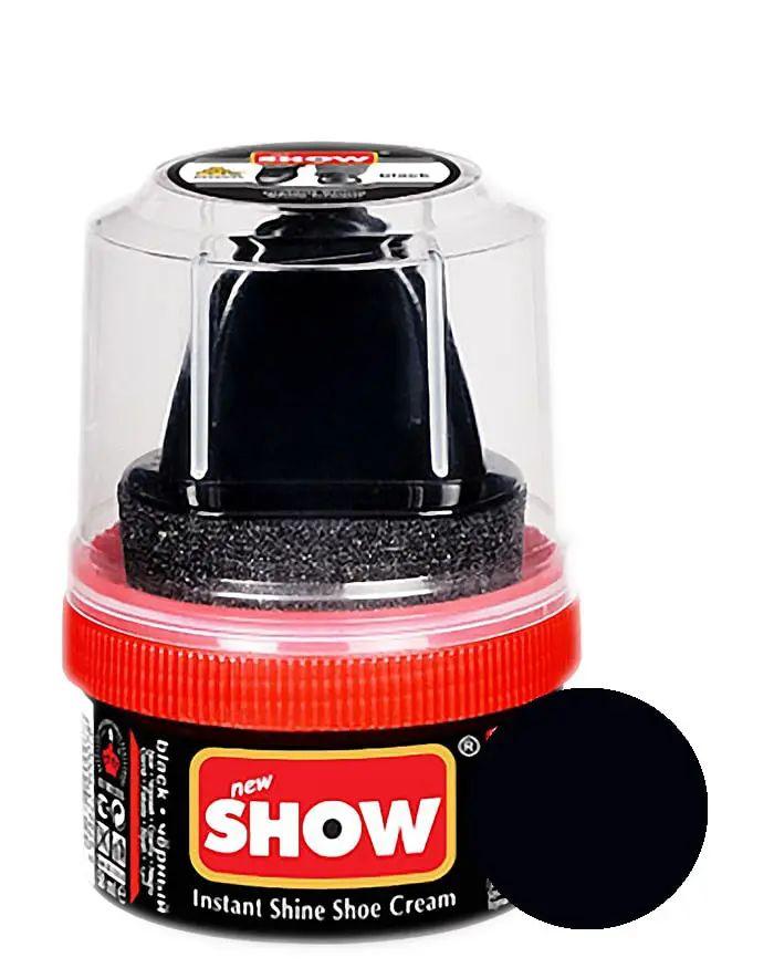 Czarna pasta woskowa, nabłyszczająca, Shoe Cream Show