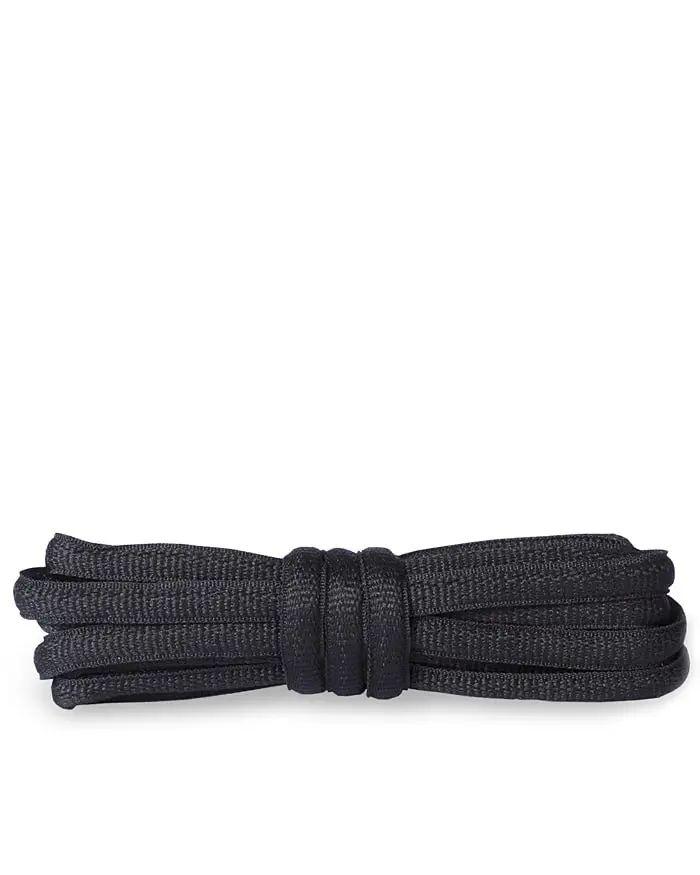 Czarne sznurówki do butów sportowych, poliestrowe 90 cm Kaps