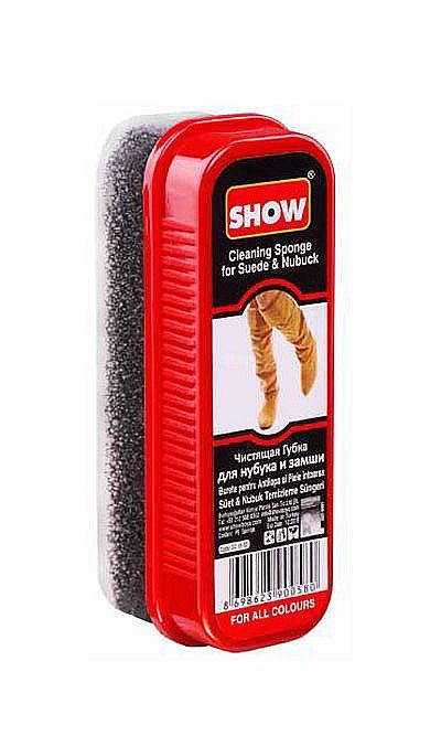 Czyścik do butów zamszowych, elastyczna gąbka do nubuku Show