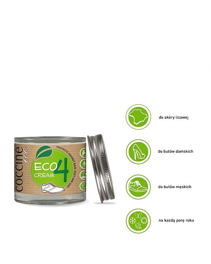 Eco Cream Coccine, czarny ekologiczny krem do butów