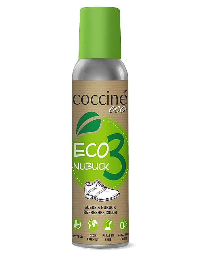 Ekologiczna pasta do zamszu nubuku, czarna, Eco Nubuk Coccine