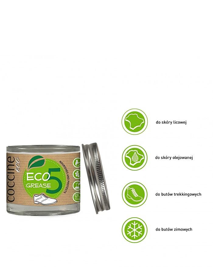 Ekologiczny tłuszcz ochronny do skóry, Eco Grease Coccine