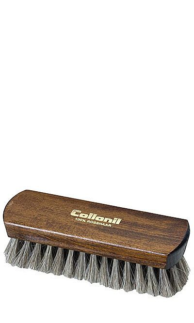 Szczotka do polerowania obuwia, wysokogatunkowa, jasna Collonil