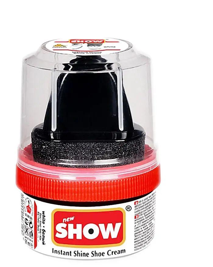 Jasnobrązowa pasta woskowa, nabłyszczająca, Shoe Cream Show