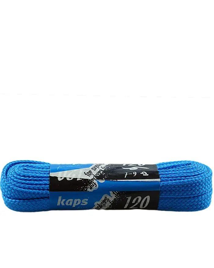 Jasnoniebieskie, sznurówki do sneakersów, płaskie 120 cm Kaps