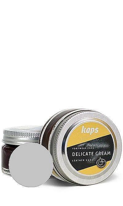 Krem do skóry licowej, Delicate Cream Kaps 402 stare srebro