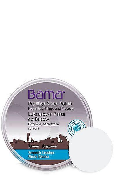 Bezbarwna, klasyczna pasta do butów luksusowa Bama 50 ml