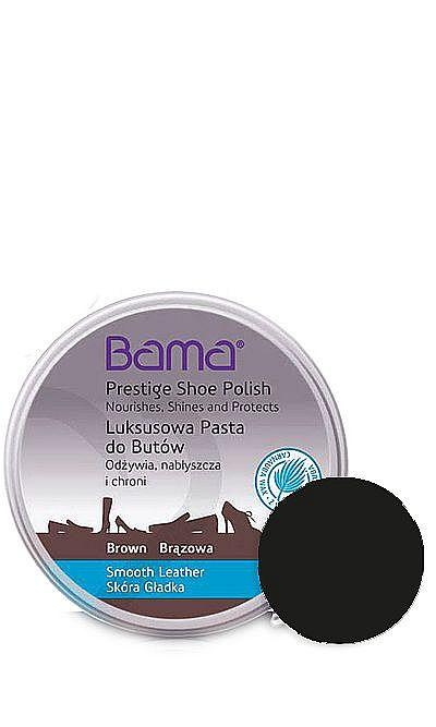 Czarna, klasyczna pasta do butów luksusowa Bama 50 ml