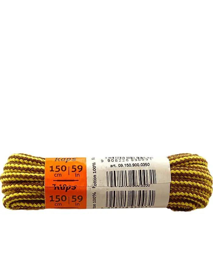 Melanżowe sznurówki do butów, okrągłe grube 90 cm Kaps