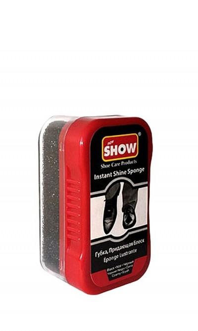 Mini gąbka do czyszczenia, nabłyszczania butów Show bezbarwna