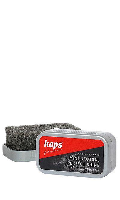 Bezbarwna mini gąbka do czyszczenia, nabłyszczania obuwia Kaps