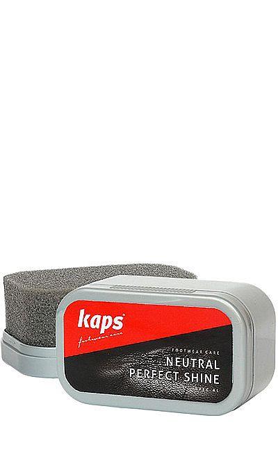 Bezbarwna gąbka do czyszczenia, nabłyszczania obuwia Kaps