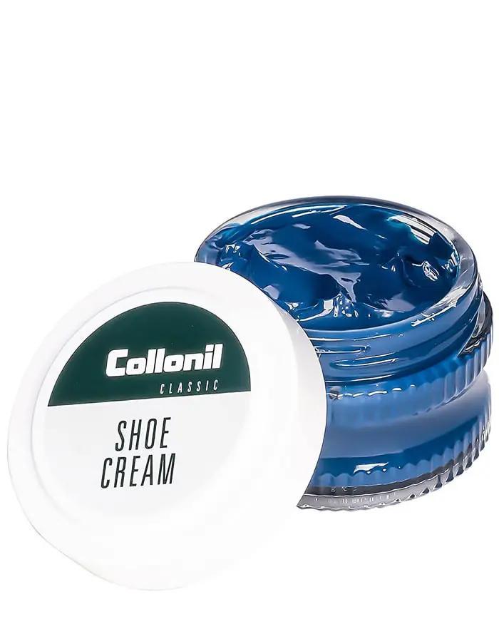 Niebieski krem do skóry licowej, Shoe Cream 518 Indigo