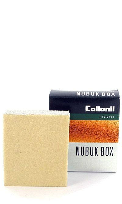 Gumka do czyszczenia zamszu, nubuku na sucho, Nubuk Box Collonil