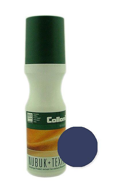 Granatowa pasta w płynie do zamszu, nubuku Nubuk Textile Collonil