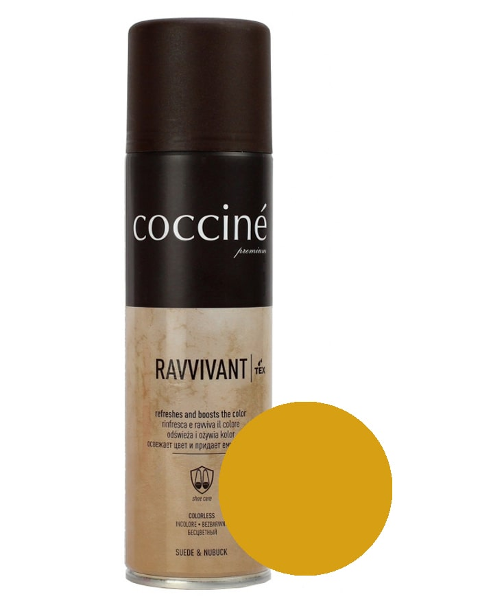 Revvivant Coccine, renowator do zamszu nubuku, camel, 250 ml