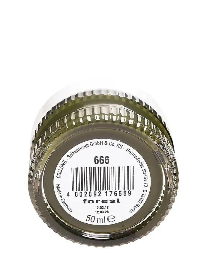 Oliwkowy krem do skóry licowej, Shoe Cream 666 Forest Collonil
