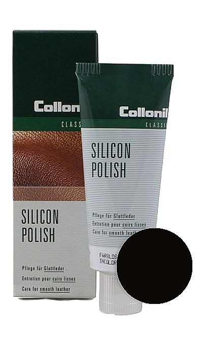 CZARNA PASTA DO BUTÓW SILICON POLISH COLLONIL