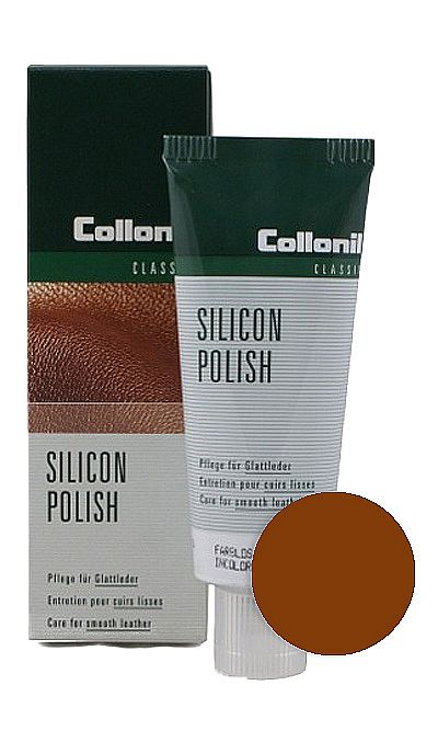 JASNOBRĄZOWA PASTA DO BUTÓW SILICON POLISH COLLONIL