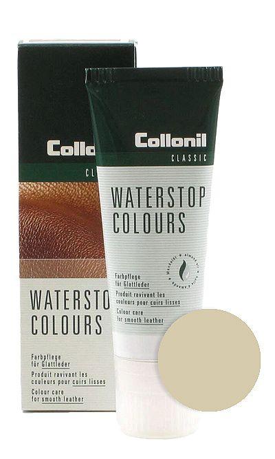 Beżowa pasta do butów, Waterstop Colours Collonil 052 75 ml