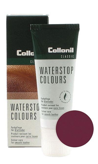 Bordowa pasta do butów, Waterstop Colours Collonil 457 75 ml