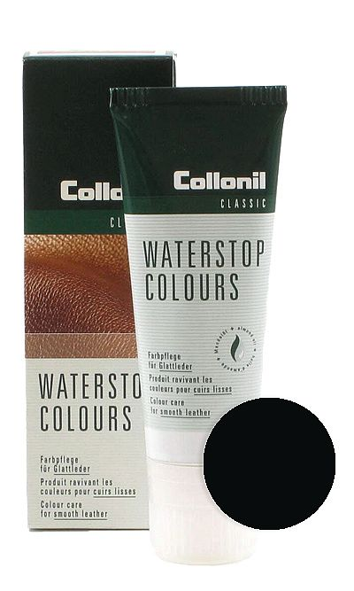Czarna pasta do butów, Waterstop Colours Collonil 751 75 ml