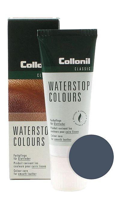 Granatowa pasta do butów, Waterstop Colours Collonil 519 75 ml