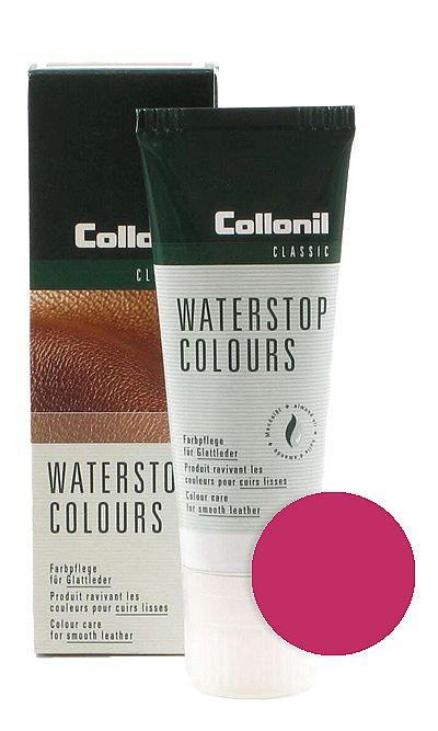 Różowa pasta do butów, Waterstop Colours Collonil 439 75 ml