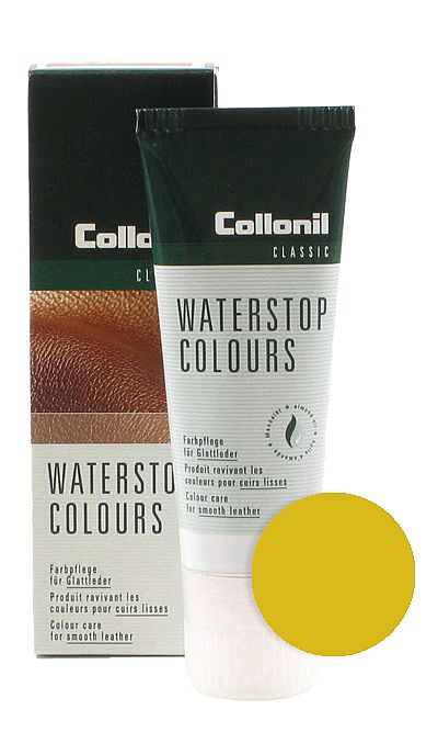 Żółta pasta do butów, Waterstop Colours Collonil 331 75 ml