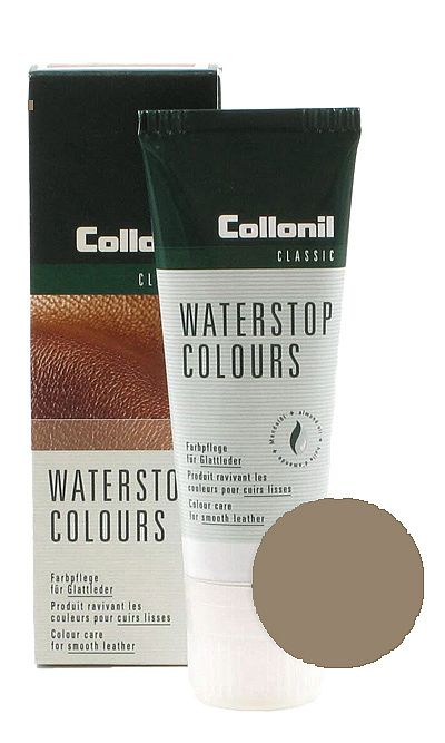 Pasta do butów, Waterstop Colours Collonil 344 Pfeffer Taupe