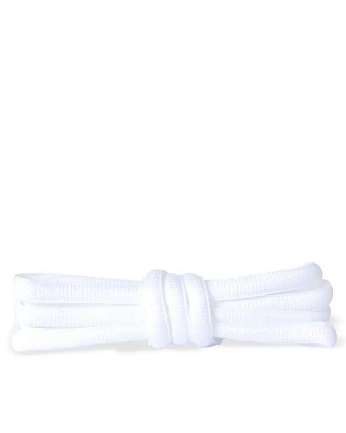 Białe sznurówki do butów sportowych, poliestrowe, 120 cm Kaps